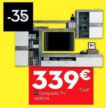 Oferta de Compacto  tv Akron por 339€