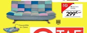 Oferta de Sofá cama MARIE  por 299€
