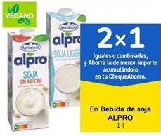 Oferta de Bebida de soja ALPRO por 1,49€
