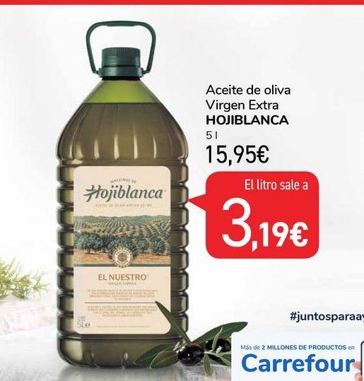 Oferta de Aceite de oliva Hojiblanca por 15,95€