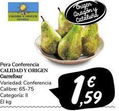 Oferta de Peras por 1,59€