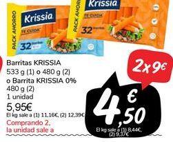 Oferta de Barritas Krissia por 5,95€