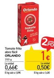 Oferta de Tomate frito Orlando por 0,66€