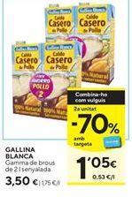 Oferta de Caldo Gallina Blanca por 3,5€