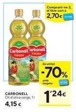 Oferta de Aceite de oliva virgen Carbonell por 4,15€