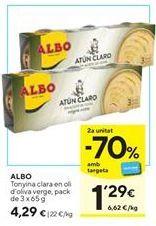 Oferta de Atún Albo por 4,29€