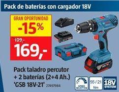 Oferta de Taladro percutor por 169€