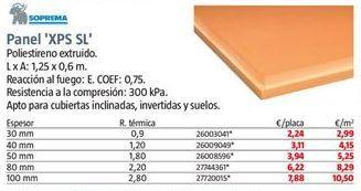 Oferta de Paneles por 2,99€