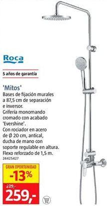 Oferta de Barra de ducha Roca por 259€