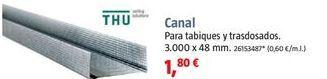 Oferta de Canaleta por 1,8€