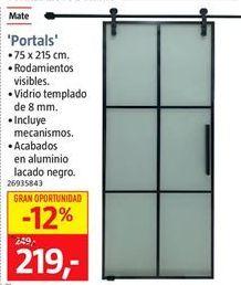 Oferta de Puerta corredera por 219€