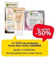 Oferta de En TODOS los productos Facial Skin Active GARNIER  por