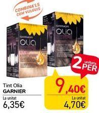 Oferta de Tinte Olia GARNIER  por 6,35€