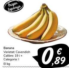 Oferta de Banana  por 0,89€