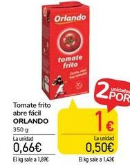 Oferta de Tomate frito abre fácil ORLANDO  por 0,66€