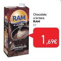 Oferta de Chocolate a la taza RAM  por 1,69€