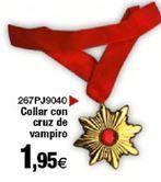 Oferta de Collar con cruz de vampiro  por 1,95€