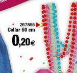 Oferta de Collar 60 cm por 0,2€