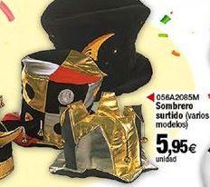 Oferta de Sombrero surtido por 5,95€