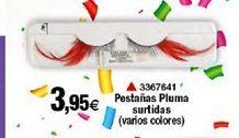 Oferta de Pestañas Pluma surtidas  por 3,95€