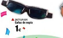 Oferta de Gafas de espia  por 1€