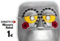 Oferta de Máscaras robot  por 1€