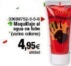 Oferta de Maquillaje al agua en tubo por 4,95€