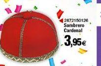 Oferta de Sombrero Cardenal  por 3,95€