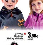 Oferta de Diadema Mckey y minnie  por 3,5€