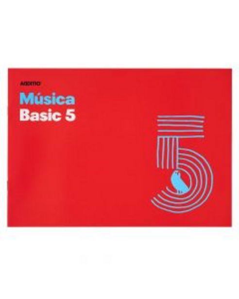 Oferta de Cuaderno de música Additio Basic 5 pentagramas por 1,4€
