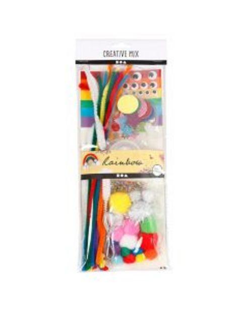 Oferta de Set surtido manualidades arco iris por 5,45€