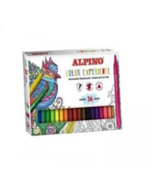 Oferta de Rotulador Alpino Color Experience 36 colores por 18,6€