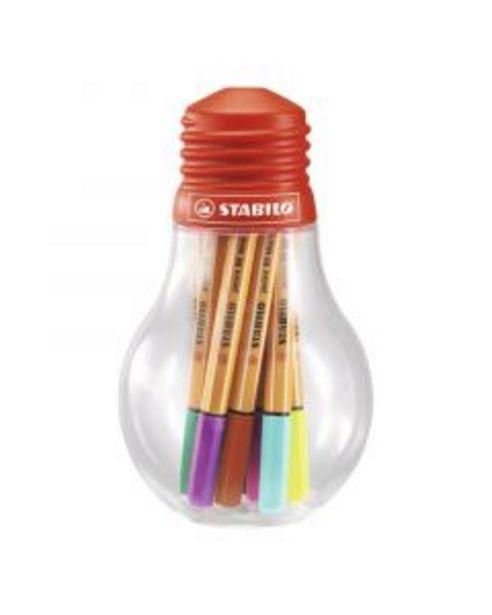 Oferta de Stabilo Point 88 Mini bombilla 12 colores por 11,95€