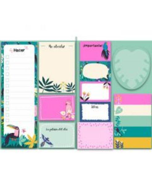 Oferta de Mi cuaderno tropical de notas adhesivas por 7,95€