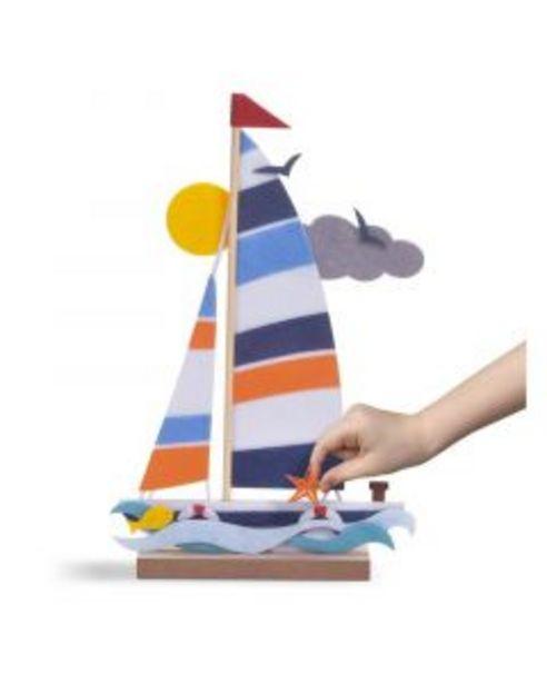Oferta de Kit crea barco con fieltro y madera por 8,95€