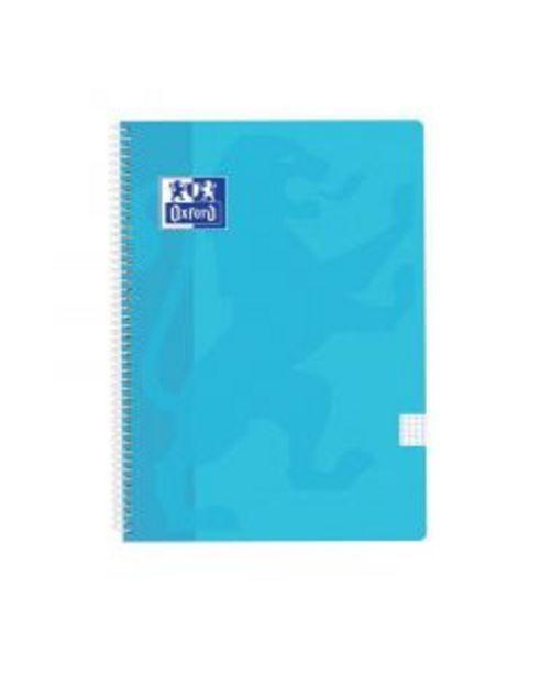 Oferta de Bloc folio cuadrícula Oxford Azul Pastel por 2,95€
