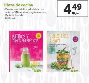 Oferta de Libros de cocina por 4,49€
