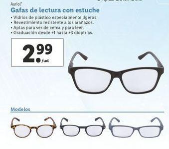 Oferta de Gafas de lectura Auriol por 2,99€