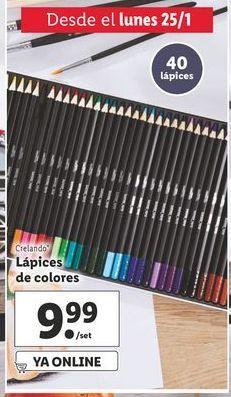Oferta de Lápices crelando por 9,99€