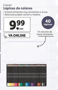 Oferta de Lápices de colores crelando por 9,99€