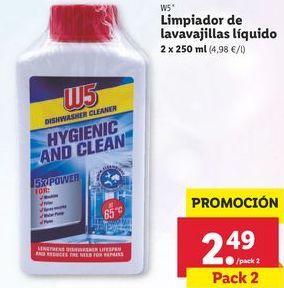 Oferta de Limpiadores W5 por 2,49€