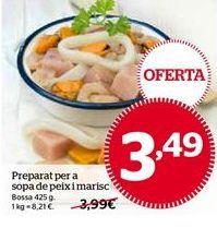 Oferta de Preparado para paella por 3,49€