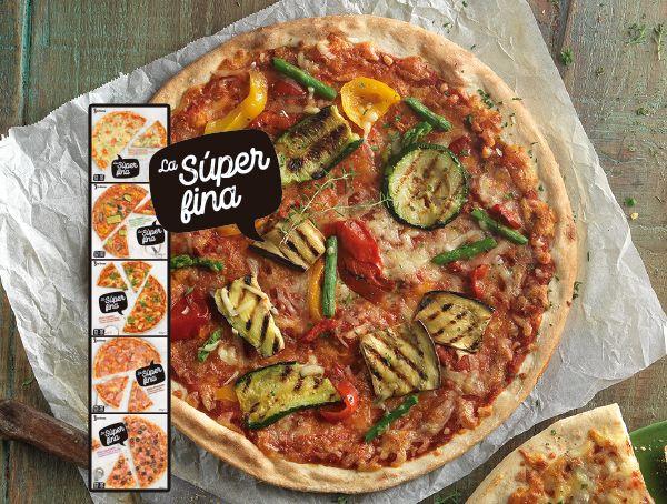 Oferta de Pizza La Súper Fina diferentes variedades por 2,09€