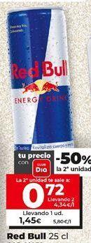 Oferta de Bebida energética Red Bull por 1,45€