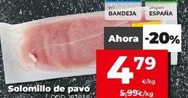 Oferta de Pavo por 4,79€
