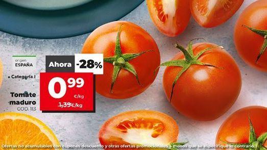 Oferta de Tomate maduro por 0,99€