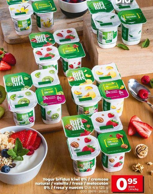 Oferta de Yogur bífidus Dia por 0,95€