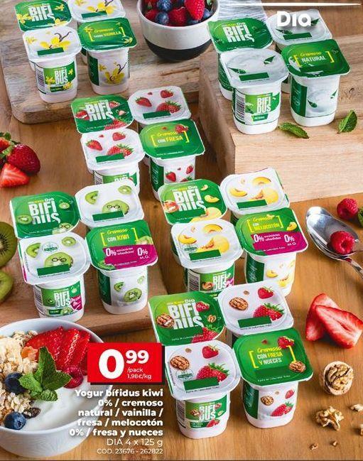 Oferta de Yogur bífidus Dia por 0,99€