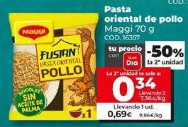 Oferta de Pasta oriental Maggi por 0,69€