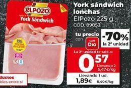 Oferta de Loncheados elpozo por 1,89€